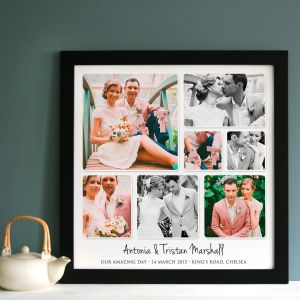 Personalised Wedding Photo Collage